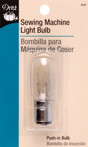 Dritz Sewing Machine Light Bulb For Sewing Product, Push