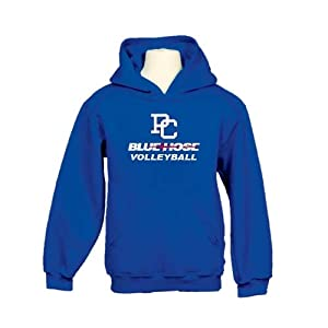 Presbyterian College Youth Royal Fleece Hood-Large, Volleyball