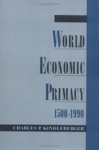 World Economic Primacy: 1500-1990