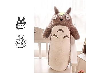 Amazon.com: Totoro Plush Pillow Long Animal Cushion Doll Kid s Toys (50cm): Baby
