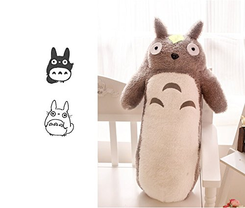 [Totoro Plush Pillow Long Animal Cushion Doll Kid's Toys (60cm)] (Kids Toothless Night Fury Costumes)