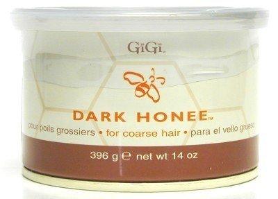 GIGI Tin Honee Dark Wax 395 gm (Case of 6)