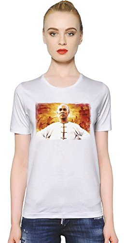 Once Upon A Time In China Wong Fei Hung T-shirt donna Women T-Shirt Girl Ladies Stylish Fashion Fit Custom Apparel By Slick Stuff XX-Large