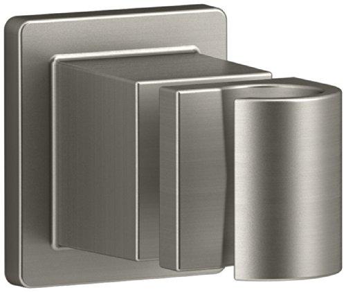 Kohler K-98348-Bn Awaken Adjustable Wall Bracket, Vibrant Brushed Nickel front-606890