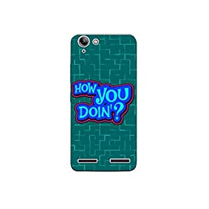 lenovo k5 nkt06 (20) Mobile Case by Mott2 - How You Doing Typography (Limited Time Offers,Please Check the Details Below)