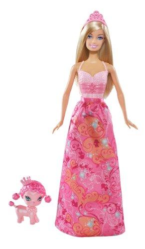 Barbie Princess and Pet Barbie Doll - 1