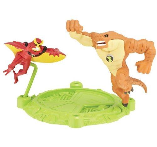Ben 10 Ultimate Alien Mini Action Figure - Humungousaur/Jetray - 1