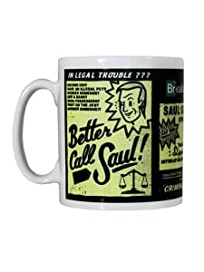 Tasse Breaking Bad : Better Call Saul Sous Licence Officielle