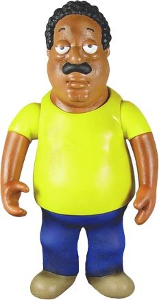 Mezco Toyz Family Guy 6 Inch Classic Action Figure Series 2 Cleveland Brown
