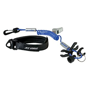 Kwik Tek Ul-3 Ultimate Lanyard For Pwcs (Blue / Silver)