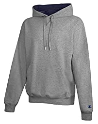 Champion 9.7 oz.; 90/10 Cotton Max Pullover Hood - SILVER GRAY/NAVY - 3XL