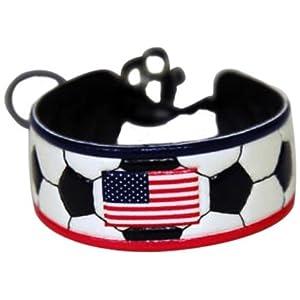 American Flag Classic Soccer Bracelet