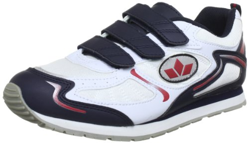 Lico Nelson V Indoor Shoes Mens White Weià (weiss/marine/rot) Size: 38