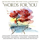 img - for Words for You: The Greatest Poems, the Finest Voices, Glorious Music book / textbook / text book