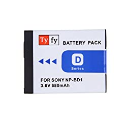 Tyfy NPBD1 Digital Camera Battery