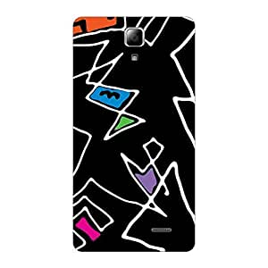 Garmor Designer Plastic Back Cover For OnePlus 3