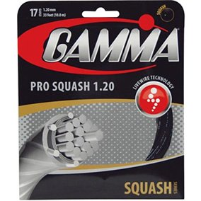 Gamma Live Wire Pro Squash - Squash String Set-17B
