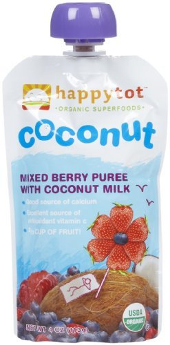 Happy Tots Stage 4 Coconut Milk And Mixed Berry Pouch (16/4.22Oz)