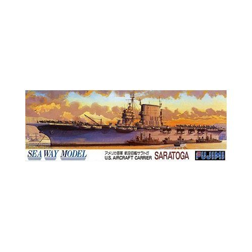フジミ模型 1/700 航空母艦 サラトガ