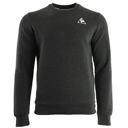 Le Coq Sportif Lotimer-Felpa da uomo, colore: grigio, taglia: M (taglia del produttore: M)
