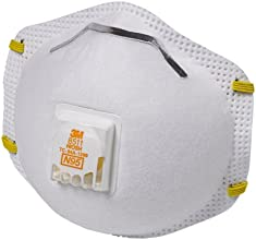 3M 8511 Particulate N95 Respirator with Valve, 10-Pack