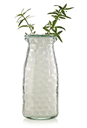 [New Formula] Tospania Clear Noctilucent Green Glow-in-the-dark Water Beads Centerpiece Wedding Tower Vase Filler (8 Oz Pack)