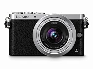 Panasonic LUMIX DMC-GM1KS Compact System Camera with 12-32mm Silver Lens Kit