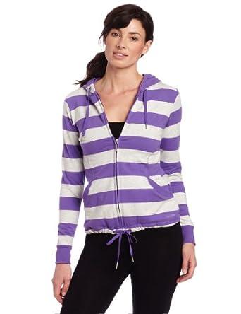 Calvin Klein Performance Women's Rugby Stripe女士连帽运动外套2色$23.9