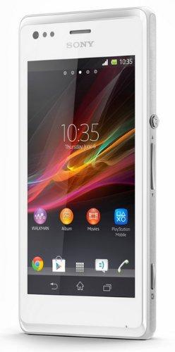 Sony Xperia M C2004 – Dual SIM – Unlocked – US Warranty – (White)
