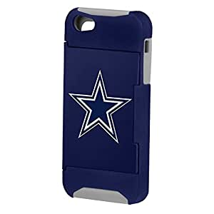 Forever Collectibles NFL Hideaway Credit Card iPhone 5 Hard Case - Retail Packaging - Dallas Cowboys