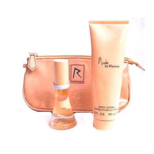 Rihanna-Nude-Confezione-Regalo-15ml-EDP-30ml-Lozione-Corpo-Borsetta
