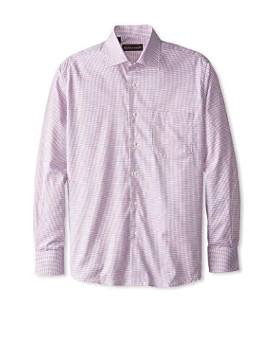 Kenneth Gordon Men's Check Spread Collar Sportshirt