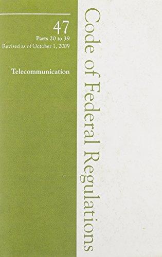 2009 47 Cfr 20-39 (FCC)