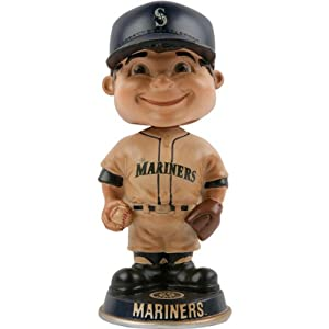 MLB Seattle Mariners Vintage Bobble Heads by Unknown