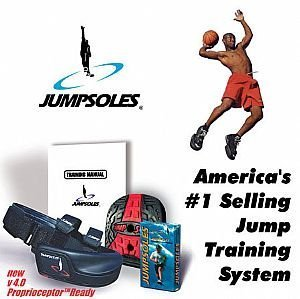 Jump Sole (medium Size 8-10) - Jumpsole - Shoes with a Platform to Increase Your Vertical Leap (Vertical Jump Shoes compare prices)