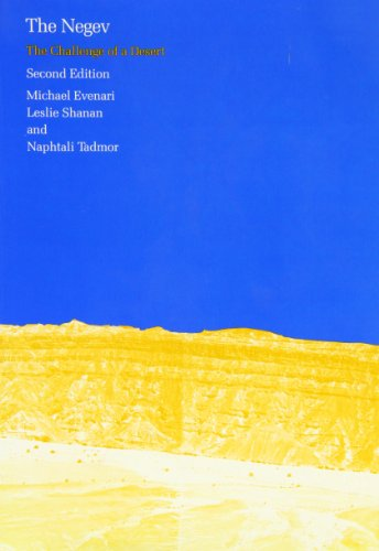 The Negev: The Challenge of a Desert, Second Edition