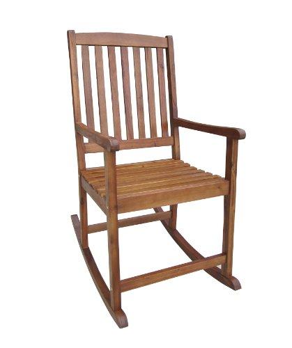 Schaukelstuhl aus Akazien-Hartholz, Oberfläche geölt, für Aussen, FSC®-zertifiziert günstig kaufen