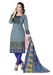 Balaji Fashion Women's fancy print cottan suit-D.NO 1011