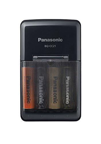 Panasonic エネループ トーンズ フォレスト 単3形 急速充電器セット K-KJ21MCC40F