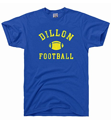 Dirtyragz Men'S Dillon Panthers Football T-Shirt L Blue