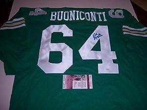 Autographed Nick Buoniconti Jersey - Notre Dame Fighting Irish patriots hof Jsa coa -... by Sports+Memorabilia