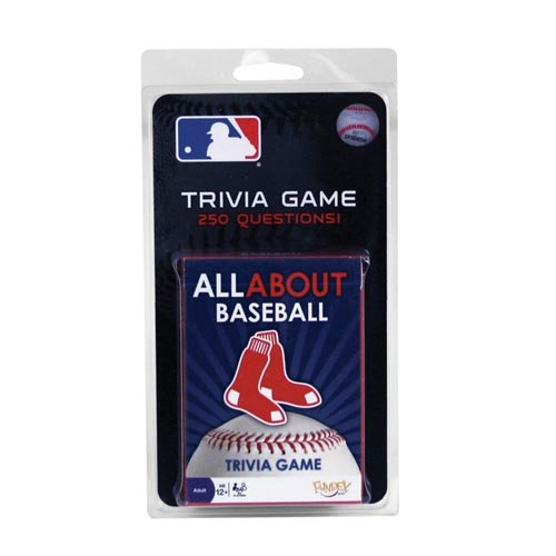 Boston Red Sox All About Trivia Card Game - 1