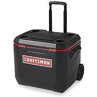 Craftsman 50 Qt Wheeled Cooler (Black)