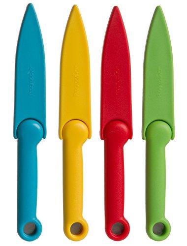 Prepworks by Progressive Food Safety Paring Knives - Set of 4