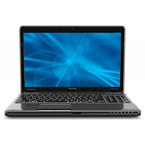 """Toshiba Satellite® P755-S5269 Laptop Computer With 15.6"""" LED-Backlit Screen & 2nd Gen Intel® CoreTM i7-2630QM Processor With Turbo Boost 2.0"""