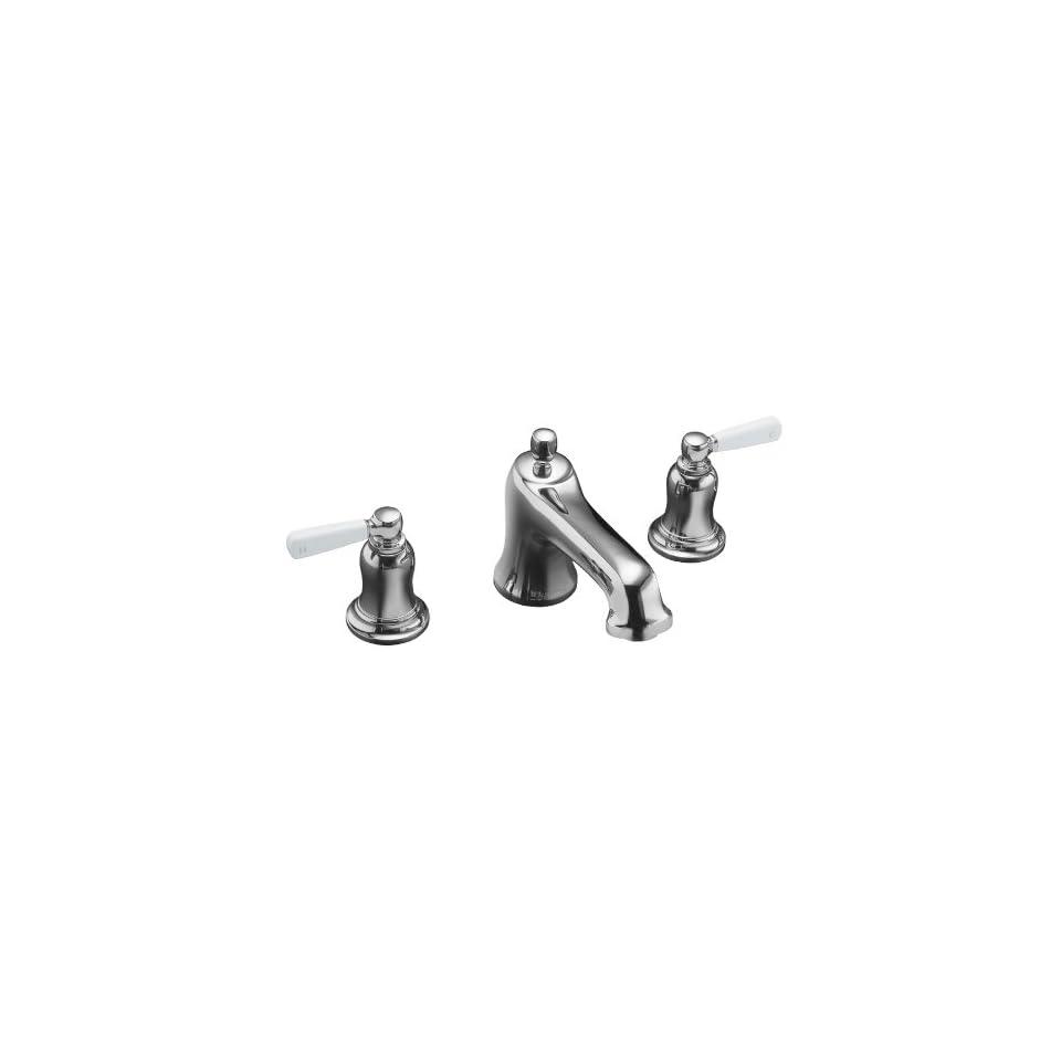 KOHLER Bancroft Polished Chrome 2 Handle Tub & Shower Faucet with Single function Showerhead T10585 4P CP