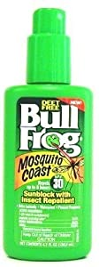 Bull Frog Mosquito Coast SPF#30 Sunblock with Repellent 4.7 oz. (Case of 6)