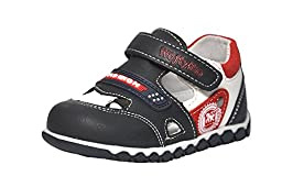 Wojtylko Boys Closed Toe Black Sandal Size 20EU