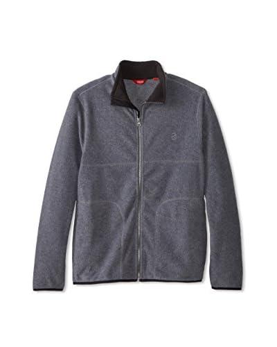 IZOD Men's Full Zip Polar Fleece Jacket