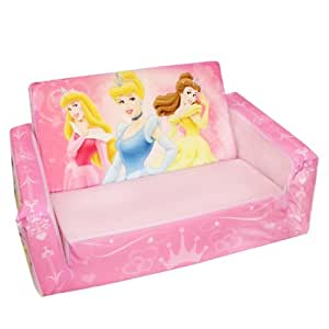 Marshmallow Fun Furniture Flip Open Sofa: Disney Princess Theme